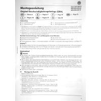 Nachrüstsatz GRA (Geschwindigkeitsregelanlage) VW Scirocco von EZ 02.11.2009 bis 30.05.2010