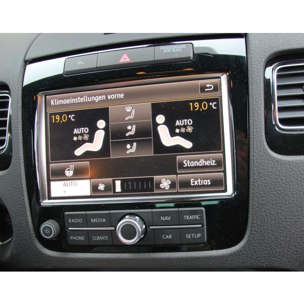Erweiterung Zuheizer auf Standheizung für VW Touareg 7P -mit Bedienung über RNS 850