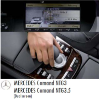 Video in motion for MERCEDES NTG 3 / 3.5 navigation systems