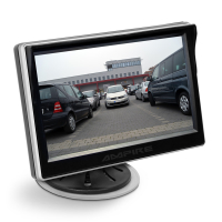 AMPIRE TFT monitor 12.7cm (5``) with 2 inputs and...