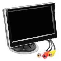 Monitor AMPIRE TFT 12,7 cm (5 ) z 2 wejsciami i uchwytem...