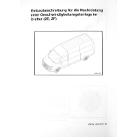 Retrofit kit GRA - cruise control system Mercedes Sprinter W906