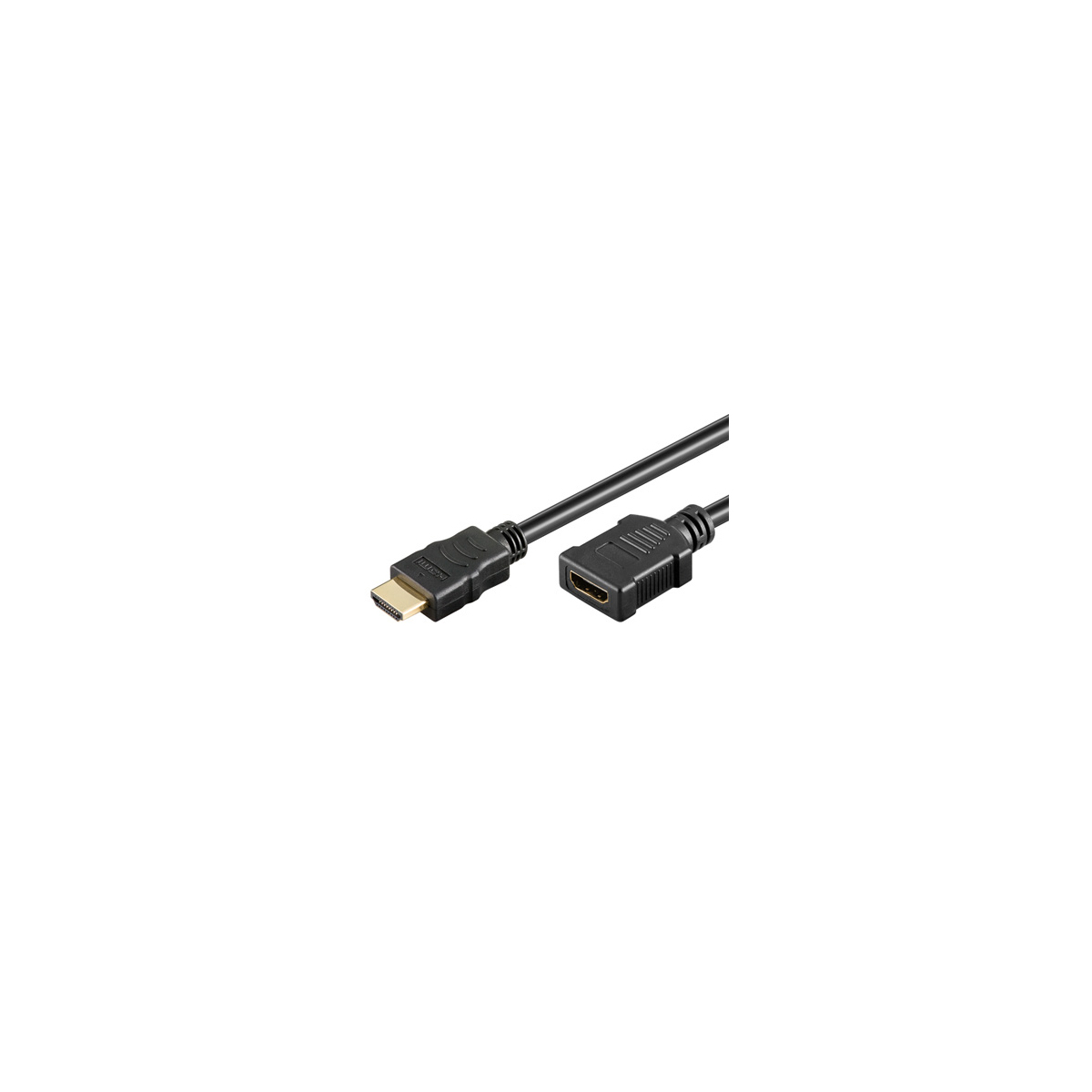 ampire hdmi verl ngerungskabel 100cm high speed ethernet. Black Bedroom Furniture Sets. Home Design Ideas