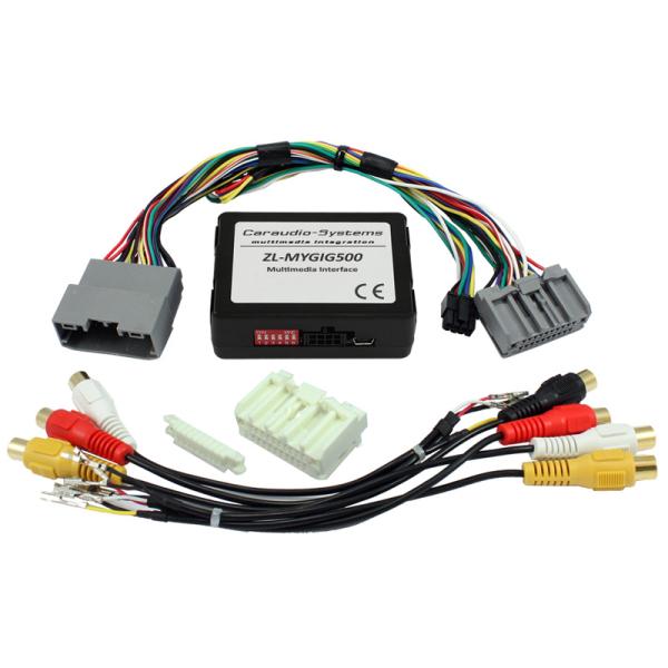 Multimedia Interface für CHRYSLER/DODGE/JEEP mit TV-Frei, RFK