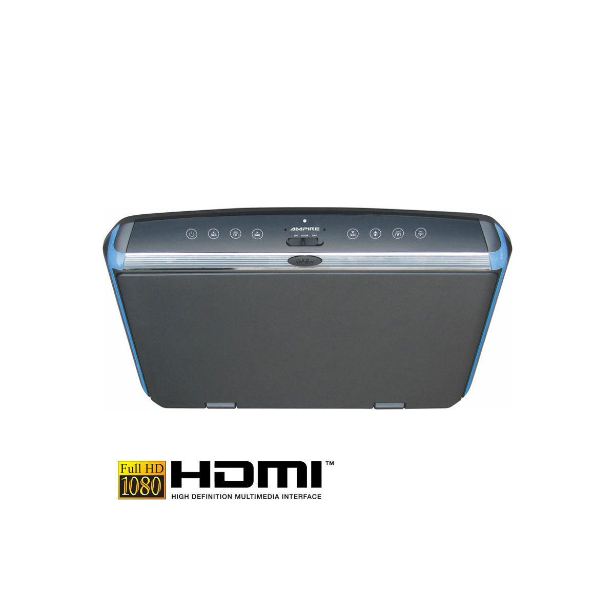 ampire full hd deckenmonitor 10 1 39 39 mit hdmi. Black Bedroom Furniture Sets. Home Design Ideas