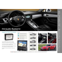 Nachrüstset Rückfahrkamera für Porsche...