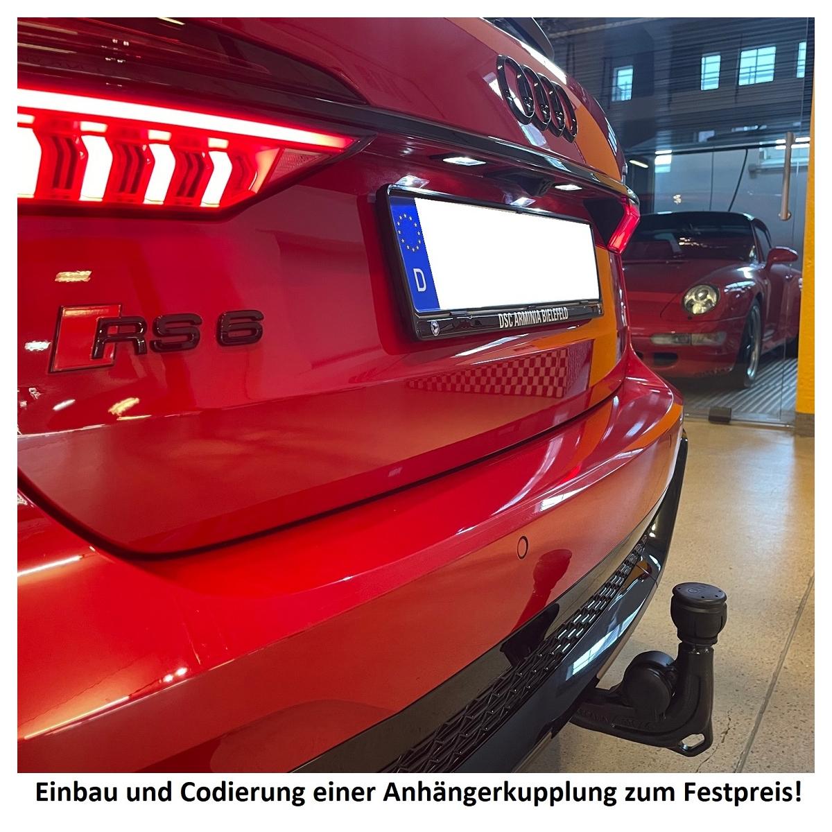 E-Satz für Vorbereitung Original Audi A3 8V Anhängerkupplung abnehmbar inkl