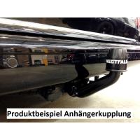 Nachrüstung einer Anhängerkupplung im Audi A6 Typ 4B (komplett inkl. Codierung)
