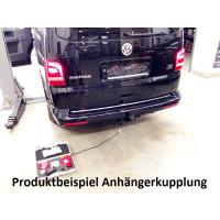 Reequipamiento de un enganche de remolque en el VW...