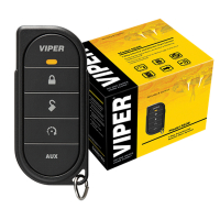 VIPER alarm system with a remote control