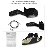 Retrofitting original Audi GRA / cruise control in the Audi A4 8E + 8H convertible