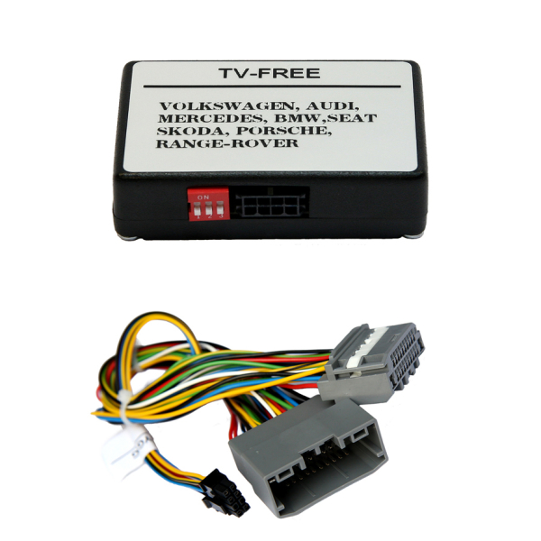 TV-Freischaltung für CHRYSLER, Dodge, Ferrari, etc mit MYGIG Navigation inkl. Kabelsatz