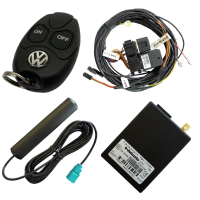 Upgrade kit from auxiliary heater to auxiliary heater for...