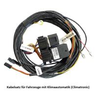Aufrüstsatz von Zuheizer auf Standheizung für VW Sharan 7N (auch Facelift) - mit Webasto T100 Fernbedienung -