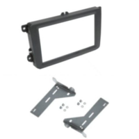 Ramka radia 2-DIN VW Golf 5, 6, Caddy, Touran, Tiguan...