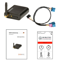 GSM Fernbedienung für VW Sharan 7M Standheizung und...