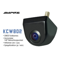 Retrofit kit accessories wide angle rear view camera for...