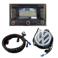 VW Passat CC Nachrüstsatz für Rückfahrkamera