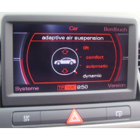 Elektronische Tieferlegung Audi A6 A8 Q5 Q7 + VW Touareg Phaeton mit Luftfahrwerk