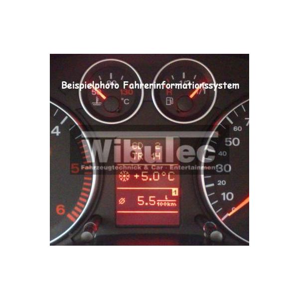 Mise à niveau du FIS (Driver Information System) sur lAudi A4 8E