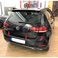 VW Golf 7 5G Einparkhilfe Park Pilot Front + Rear (vorne + hinten) Nachrüstsatz