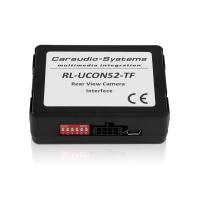 Rückfahrkamera Anschlussadapter mit Eingangskodierung für Chrysler, Dodge, Fiat, Jeep, Lancia - 52 PIN - inkl TV-FREE