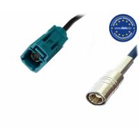 Antenna adapter FAKRA socket - SMB socket (DABSPL)