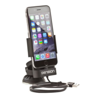 DENSION 9-pin iPod charging cradle for iPhone 5, 6 or Plus