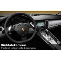 Nachrüstset Rückfahrkamera für Porsche Cayman 981c (Komplettset)
