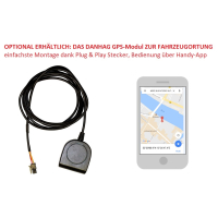 AUDI A4 B9 8W GSM module for auxiliary heating / remote control via mobile phone APP