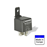 NAGARES relay 40 amps with protective diode, 12 volts