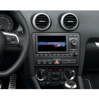 Complete conversion to 2 DIN radio slot Audi A3 8P