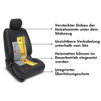 Reequipamiento de la calefacción de asiento de carbono para todos los automóviles