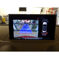 AUDI A3 8V reversing camera / Rear View FACELIFT retrofit...