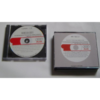 MMI update CDs for Audi A6 + A8 + Q7 including instructions (4 CDs)