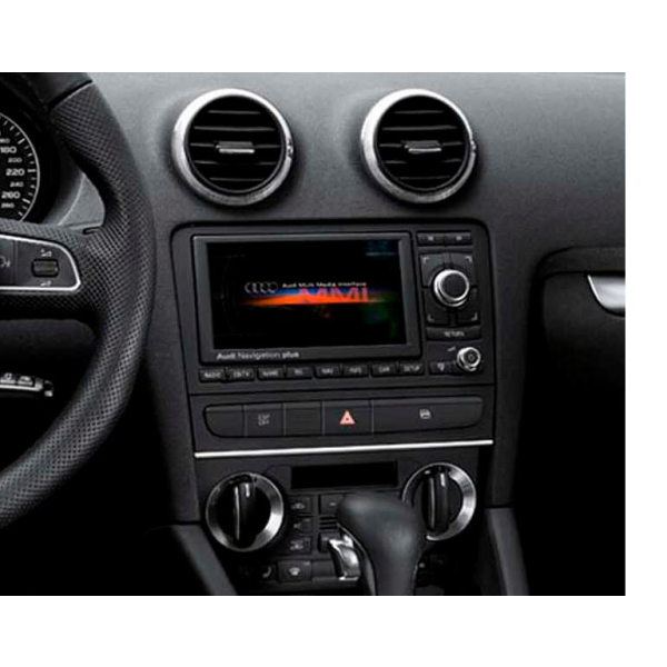 Doppel DIN Schacht + Facelift Umbau Set für Audi A3 S3 8P 8PA
