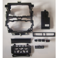 Conjunto de conversión doble ranura DIN + lifting facial para Audi A3 S3 8P 8PA