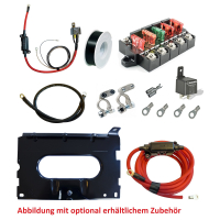 Conversion kit to second battery for Volkswagen T6