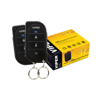 VIPER alarm system with two remote controls