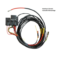 Upgrade kit from auxiliary heater to auxiliary heater for VW T5 - with Webasto digital timer -