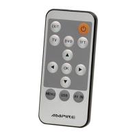 Monitor AMPIRE TFT 17,8 sm (7 djujmov) s IK-peredatcikom, 2 vhoda AV