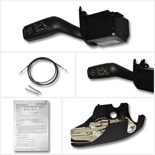 Kit Retrofit GRA - Régulateur de vitesse Audi A4 8E B6 + B7 + 8H cabriolet