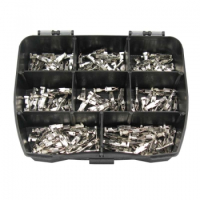 JPT Kontakt Pin, Buchse 0,50mm²-1,00mm², 150 Stück in Sortimentsbox, Junior Power Timer