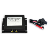 Interfaccia multimediale per VW MFD2 (1x AV IN + telecamera per retromarcia IN) compreso il controllo