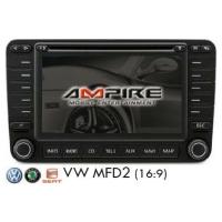 Interfaz multimedia para VW MFD2 (1x AV IN + cámara de visión trasera IN) incluido control