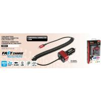 Cable de carga USB, enchufe LIGHTNING / MICRO USB - CARGA...