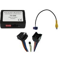 CAS rear view camera input coding + TV-free LAND ROVER 8...