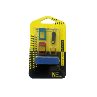 SIM card adapter set for using a nano or micro SIM in the...